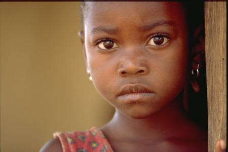 foto bambino africano